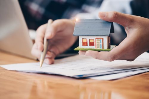 real estate attorney with paperwork